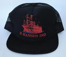 H HANSEN INDUSTRIES Trucker Baseball Cap Hat One Size Snapback