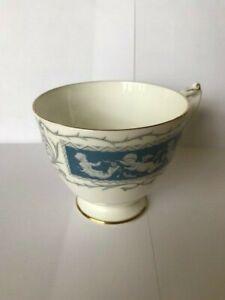 Coalport, Bone China, 'Revelry' Tea Cup, Blue & White
