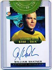 Star Trek TOS Art & Images William Shatner 6 Case Incentive Autograph #LA3 - QTY