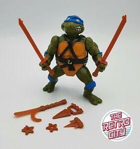 Vtg Teenage Mutant Ninja Turtles TMNT Leonardo 1988 Near Complete Playmates