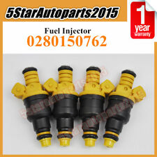 Set 4 Fuel Injector 0280150762 for Volvo 240 740 940 960 940 Peugeot 205 Citroen