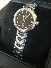 Tag Heuer Ladies Watch with Diamond numerical dial face & date