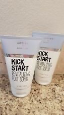 2 BATH AND BODY WORKS KICK START REVITALIZING FOOT SCRUB