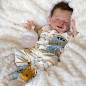 "20"" Realistic Reborn Baby Dolls Lifelike Handmade Newborn Silicone Kids Gift Boy"