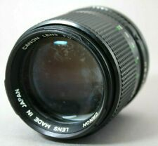 *Rare* Canon New FD 85mm 1:1.8 Lens *As Is* #HK31d