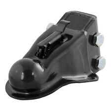 """Curt 2-5/16"""" Channel-Mount Coupler with Easy-Lock 14000 lbs. Black x 25330"""