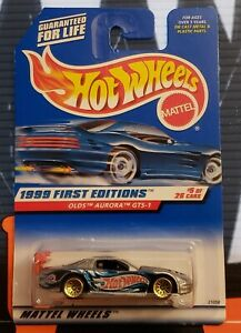 1999 HOT WHEELS FIRST EDITIONS ** OLDS AURORA GTS-1 ** #911 1:64