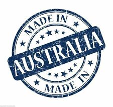 Made in Australia Oz  Round logo Circle Sticker Decal Graphic Vinyl Label