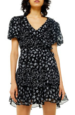 Topshop SS19 Ditsy Floral de la colmena dress XS S 6 8