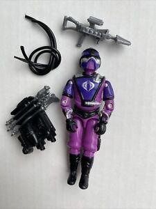 GI Joe Vintage 1987 Cobra Techno Viper Complete Original Hasbro Accessories Lot