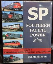 MORNING SUN BOOKS - SOUTHERN PACIFIC POWER Volume 2 - In Color - HC 128 Pages