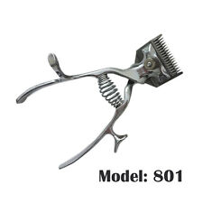 Pet Dogs Grooming Hair Stainless Steel Clippers Non Electronic Manual Silent New
