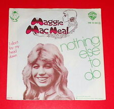 Maggie MacNeal - Nothing else to do & I don't lay my head down -- Single / Pop