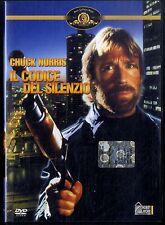 IL CODICE DEL SILENZIO Chuck Norris DVD Ottime Condizioni (W)