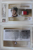2007-08 ITG Ultimate Karl Alzner 1/1 first rounders GOLD RC rookie 1 of 1