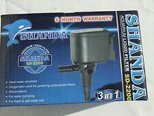 Shanda SD-2200 Power Head Pump 1400ltrs