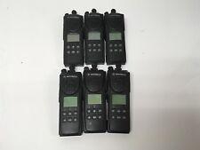 6 Motorola XTS3000 Model II VHF Digital Radios H09KDF9PW7BN TESTED