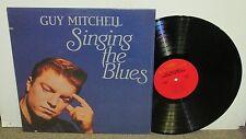 GUY MITCHELL Sings The Blues, original CSP vinyl LP, 1981, EX, shrink
