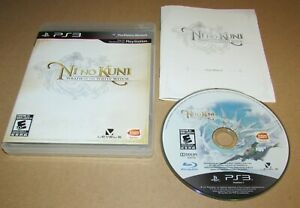 Ni No Kuni: Wrath of the White Witch PlayStation 3 PS3 Complete Fast Shipping