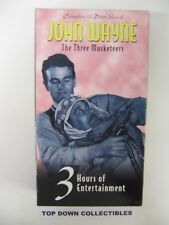 John Wayne  The Three Musketeers   Lon Chaney, Jr.  VHS Movie  Like New