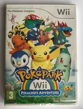 Nintendo Wii PokePark Pikachu's Adventure (2010), New & Factory Sealed, Flawed