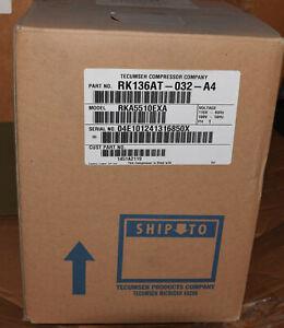 TECUMSEH RK136AT-032-A4 REPLACEMENT REFRIGERATION COMPRESSOR RKA5510EXA 50/60 HZ