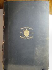 1908 Early American Ledger of German American Insurance Company Agents Register