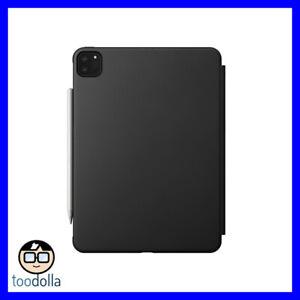 NOMAD Rugged Folio case, minimalist soft touch TPU, iPad Pro 11 (2nd Gen), Grey