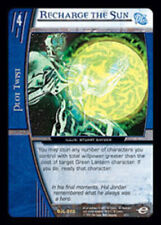 VS System: Recharge the Sun [Moderately Played] DC Justice League of America TCG