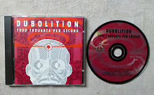 "CD AUDIO MUSIQUE / DUBOLITION ""1000 THOUGHTS PER SECOND"" CD ALBUM 9T TP9 RECORDS"