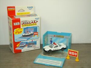 Honda NSX Police in Container - Tomica U-Mate in Box *48051