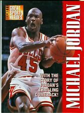 Great Sports Heroes: Michael Jordan by James Beckett (1995, Hardcover)