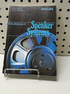 Vintage Phillips Building hi-fi Speaker Systems Book RARE HOW TO DIY