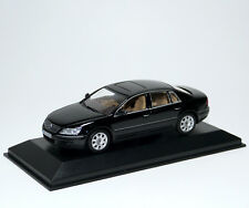 VW Volkswagen Phaeton 2002 negro Black Noir Nero estrella negra Minichamps 1:43 Dealer