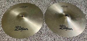 "Zildjian New Beat Series 14"" Top and Bottom Hi-Hats"
