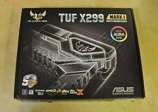ASUS TUF X299 MARK I LGA2066 DDR4 M.2 USB 3.1 Intel X299 ATX Motherboard H9M