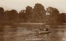 London Real Photo Postcard. The Ferry Brentford. Hounslow. Fine! Mailed 1917
