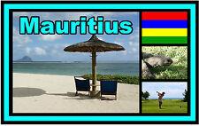 MAURITIUS - SOUVENIR NOVELTY FRIDGE MAGNET - BRAND NEW - GIFT