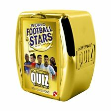 World Football Stars Top TRUMPS Quiz Game - 1 Day Delivery