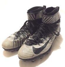 Nike Force Lunarbeast Elite TD Football Cleats 779422-010 Gray Black Mens 14