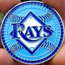 PREMIUM MLB Tampa Bay Rays Poker Card Protector Coin Golf Marker NEW