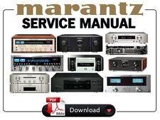 Marantz Audio Video Receiver Amplifier Service Manual. Choose your model!