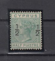 BZ7141/ BRITISH CYPRUS – VICTORIA – SG # 21 UNUSED – CV 235 $