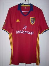 MLS Adidas Real Salt Lake RSL Soccer Authentic Short Sleeve Jersey XL Climacool