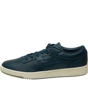 Reebok Homme Classique Club Workout Baskets Chaussures Course BS9078 Bleu