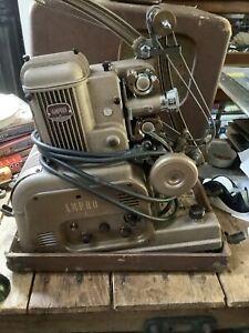Vintage Ampro Premier Stylist 16MM Film Projector & Speaker