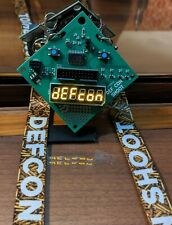 Defcon 27 Shoot Badge with Lanyard, Shot Timer from DEF CON Shoot 27