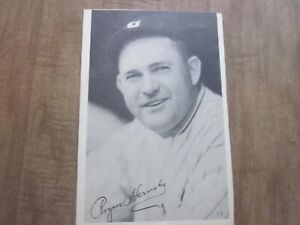 1930's Chicago Cubs Team Issued Rogers Hornsby Photo