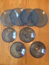 Pottery Barn Fresca Blue Indigo Acrylic Dinner Plates,Cups,Bowls & Pitcher-New