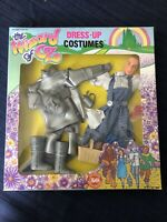 WIZARD OF OZ Dress Up Costumes 1988 BARBIE DOLL OUTFITS Tinman Dorothy 50th VTG